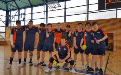 Prévenir accompagne et sponsorise l'équipe masculine des M17 du Handball club de Neuchâtel.