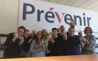 Toute l'équipe de Prévenir SA vous souhaite une joyeuse Pâques !