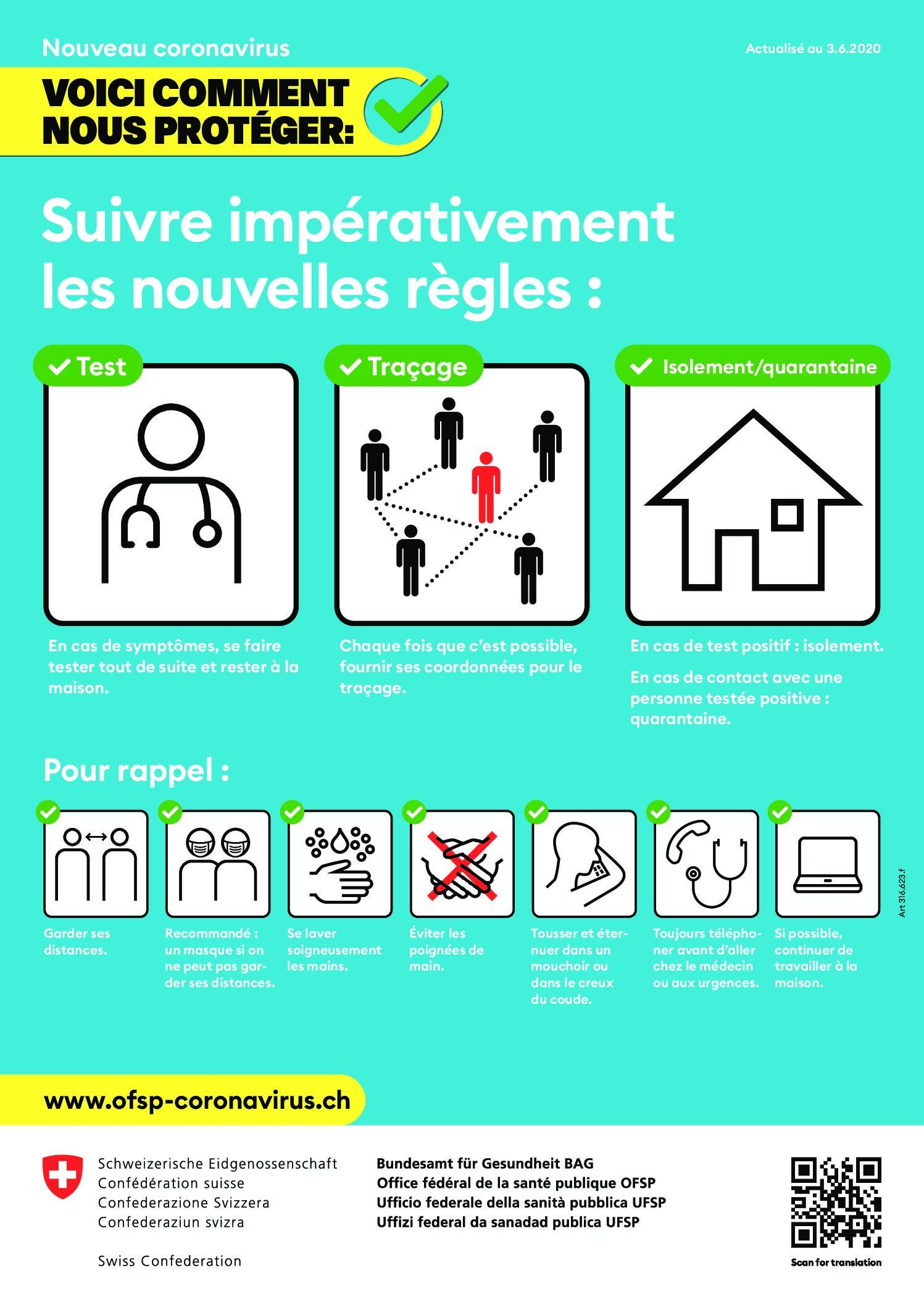 Prévenir SA - Se protéger du coronavirus